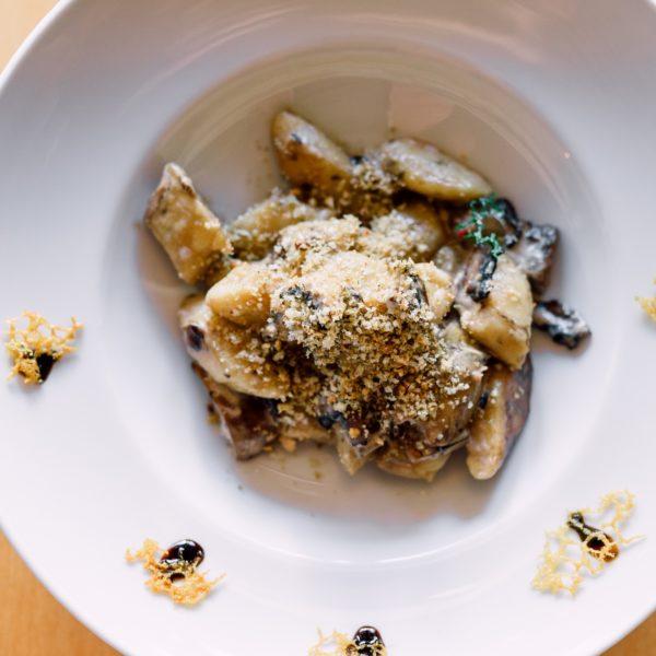 Ньокки с белыми грибами - фото 1